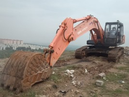 2017 model Used Tata Hitachi 200lc Excavator for sale in jawaharnagar by owners online at best price, Product ID: 450066, Image 8- Infra Bazaar