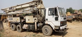 2018 model Used Schwing Stetter Ashok Leyland  Boom Placer for sale in UP by owners online at best price, Product ID: 450062, Image 2- Infra Bazaar
