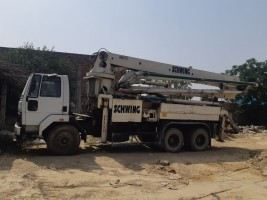 2018 model Used Schwing Stetter Ashok Leyland  Boom Placer for sale in UP by owners online at best price, Product ID: 450062, Image 1- Infra Bazaar