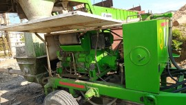 2018 model Used Schwing Stetter SP-1200 HD Concrete Pump for sale in Sitamarhi by owners online at best price, Product ID: 450019, Image 1- Infra Bazaar