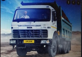 2018 model Used Tata 2018 Dumper for sale in city center gwalior by owners online at best price, Product ID: 450010, Image 1- Infra Bazaar