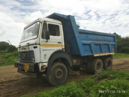 2012 model Used Tata 2518 Dumper for sale in Ambad,Jalna District  by owners online at best price, Product ID: 450039, Image 3- Infra Bazaar