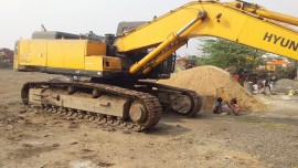 2013 model Used Hyundai R340 LC Excavator for sale in Durgapur by owners online at best price, Product ID: 450087, Image 1- Infra Bazaar