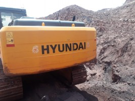 2017 model Used Hyundai 210 Excavator for sale in Hospet by owners online at best price, Product ID: 450103, Image 3- Infra Bazaar