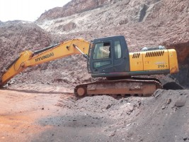 2017 model Used Hyundai 210 Excavator for sale in Hospet by owners online at best price, Product ID: 450103, Image 1- Infra Bazaar