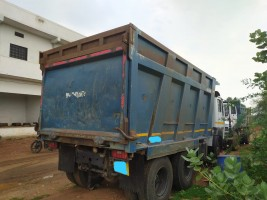 2018 model Used Tata 2518 Tipper for sale in jabalpur by owners online at best price, Product ID: 450051, Image 2- Infra Bazaar