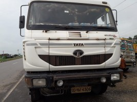 2018 model Used Tata Signa BS4 Tipper for sale in Hyderabad by owners online at best price, Product ID: 450031, Image 1- Infra Bazaar