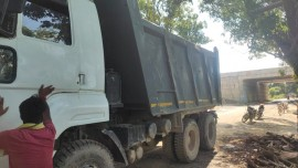 2019 model Used Ashok Leyland 2518-BS4 Tipper for sale in Bara Banki by owners online at best price, Product ID: 450107, Image 3- Infra Bazaar