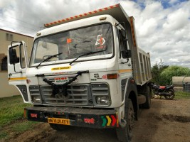 2011 model Used Tata 1613 Tipper for sale in Sangli  by owners online at best price, Product ID: 450060, Image 1- Infra Bazaar