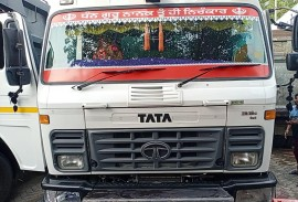 2018 model Used Tata 2518 Tipper for sale in Patiala by owners online at best price, Product ID: 450037, Image 1- Infra Bazaar