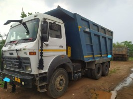 2018 model Used Tata 2518 Tipper for sale in jabalpur by owners online at best price, Product ID: 450051, Image 1- Infra Bazaar