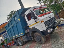 2018 model Used Tata 2518 Tipper for sale in Patiala by owners online at best price, Product ID: 450037, Image 2- Infra Bazaar