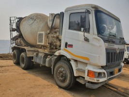 2018 model Used Schwing Stetter Mahindra Blazo 25 Transit Mixer for sale in Durgapur, West Bengal by owners online at best price, Product ID: 450029, Image 2- Infra Bazaar