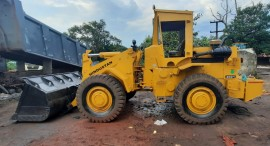 2014 model Used Hindustan HM2021 Wheel Loader for sale in Vizag  by owners online at best price, Product ID: 450108, Image 1- Infra Bazaar