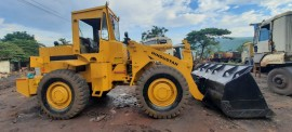 2014 model Used Hindustan HM2021 Wheel Loader for sale in Vizag  by owners online at best price, Product ID: 450108, Image 2- Infra Bazaar