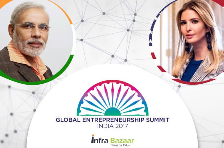 Ivanka Trump arrived in Hyderabad ahead of GES 2017 |infrabazaar
