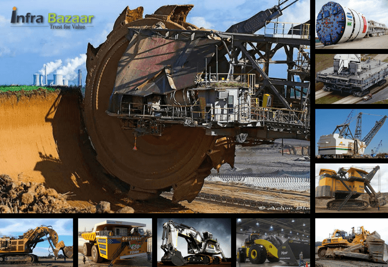 10 Largest Construction Equipment in the World, Infra Bazaar