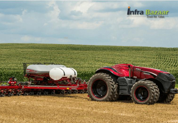 Self Driving Tractors, Driverless Tractor, Automatic Tractors -  Infra Bazaar