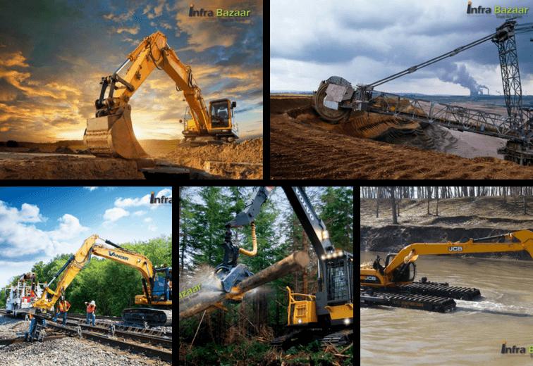 Excavator - Usage Of Excavators In Different Fields - Infra Bazaar