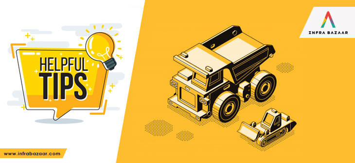 6 Tips for Buying Heavy Equipment You Need to Know! - Infra Bazaar