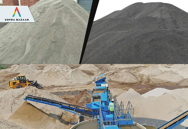 Manufactured Sand- An Eco-friendly and Superior Alternative - Infra Bazaar