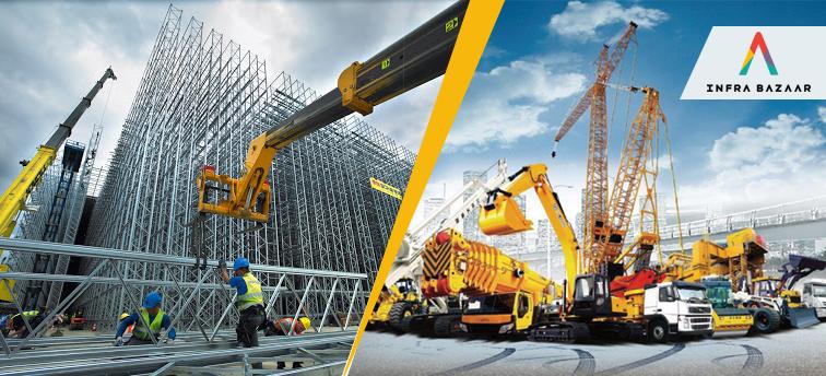 Growth of Construction Equipment Industry in India - Infra Bazaar