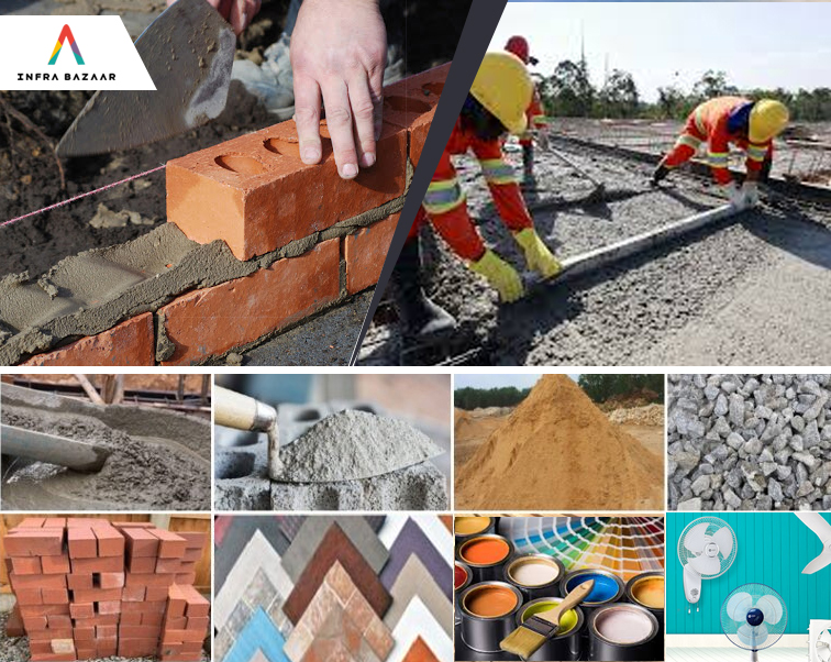 Different Building Materials and Its Uses - Infra Bazaar