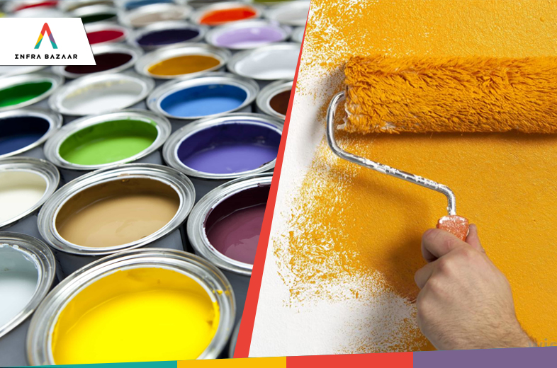Types of Paints Used in Construction - Part 1 - Infra Bazaar