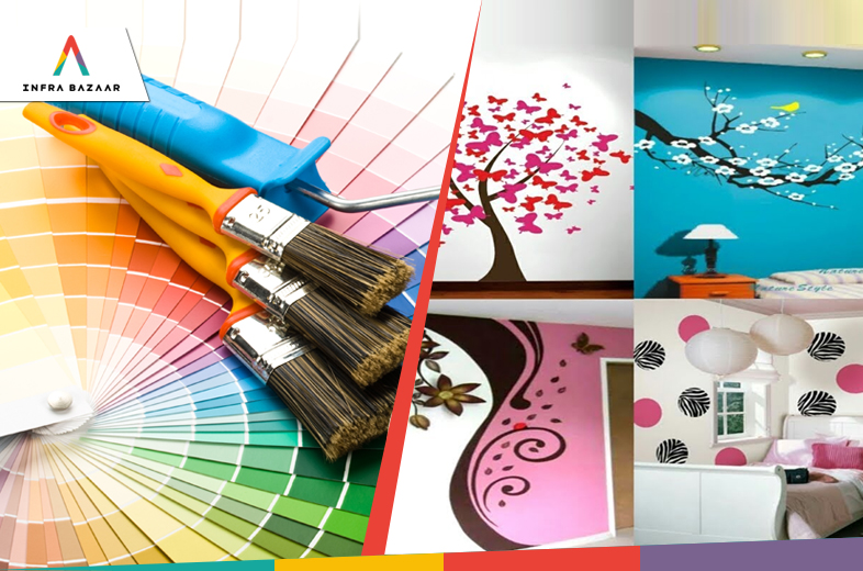 Types of Paints Used in Construction - Part 2 - Infra Bazaar