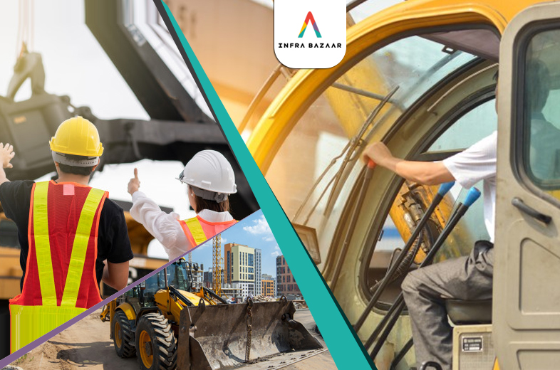 Selling your Heavy Machinery? Here are the Top 5 Tips to Help You! - Infra Bazaar