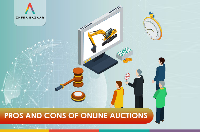 Pros And Cons Of Online Auctions - Infra Bazaar