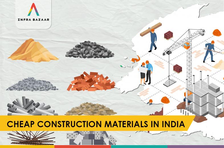 Cheap Construction Materials In India - Infra Bazaar