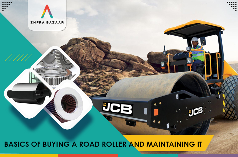 Basics Of Buying A Road Roller And Maintaining It - Infra Bazaar