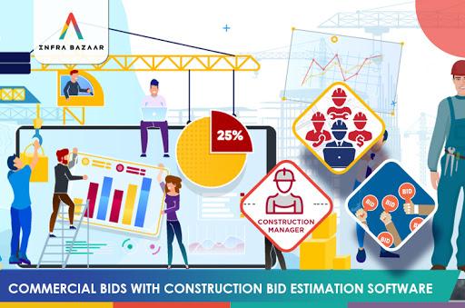 Commercial Bids With Construction Bid Estimation Software - Infra Bazaar