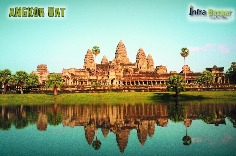 Angkor Wat - The largest religious monument in the world |Infra Bazaar