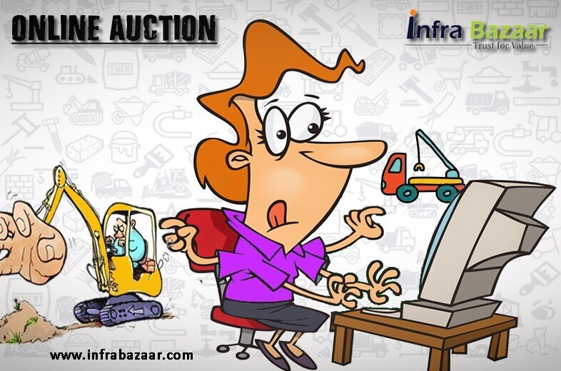 How Does an Online Auction Works |Infra Bazaar