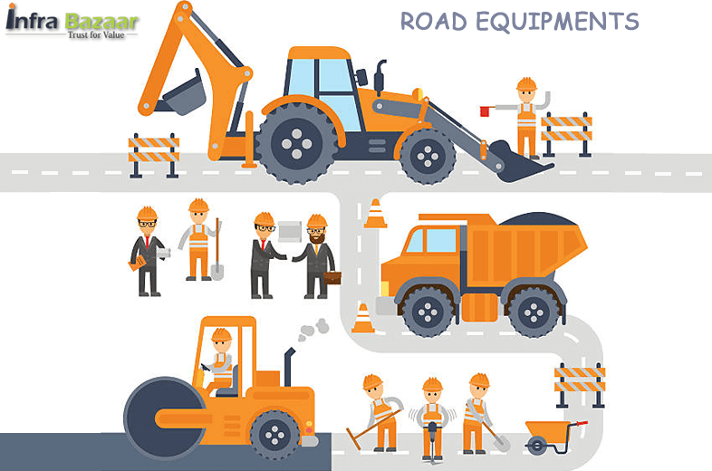 A list of Road Equipment Using for Road construction |Infra Bazaar
