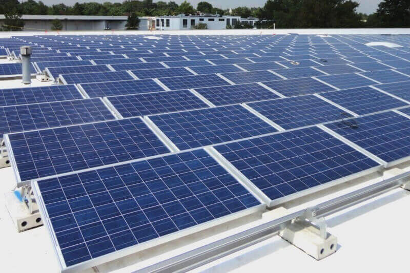 India strides ahead with world's largest rooftop solar power project  Infra Bazaar