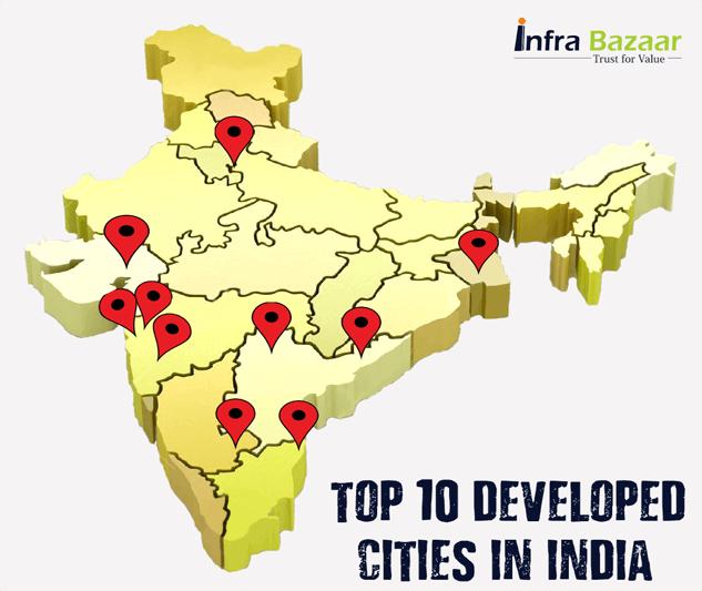 The Top 10 Developed Cities in India | Infra Bazaar