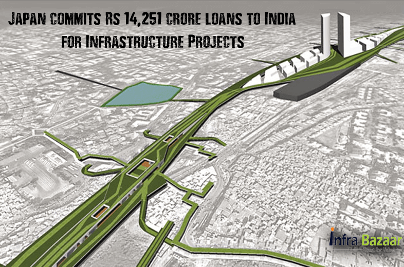Japan commits Rs 14,251 crore loans to India for Infrastructure |Infra Bazaar