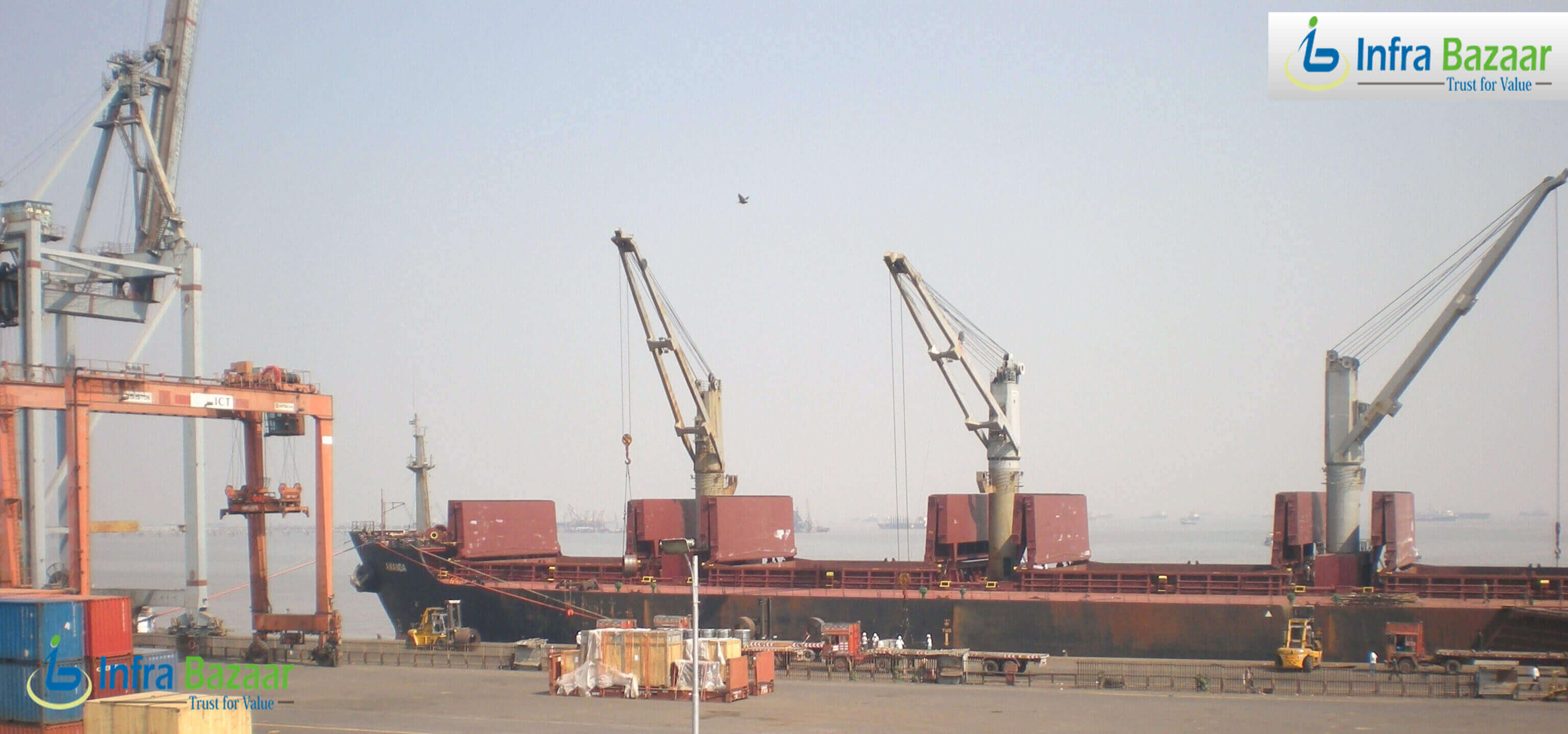 Government keen on upgrading ports, eyes at $2 Billion in foreign funding  Infra Bazaar