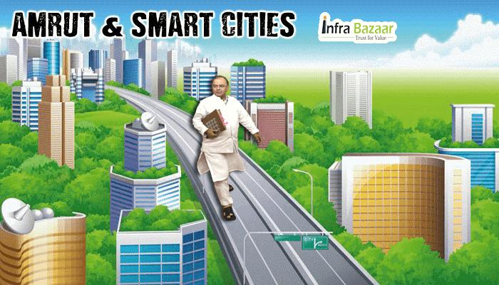 Rs 7,296crore Budget 2016: AMRUT & SMART CITIES  Infra Bazaar