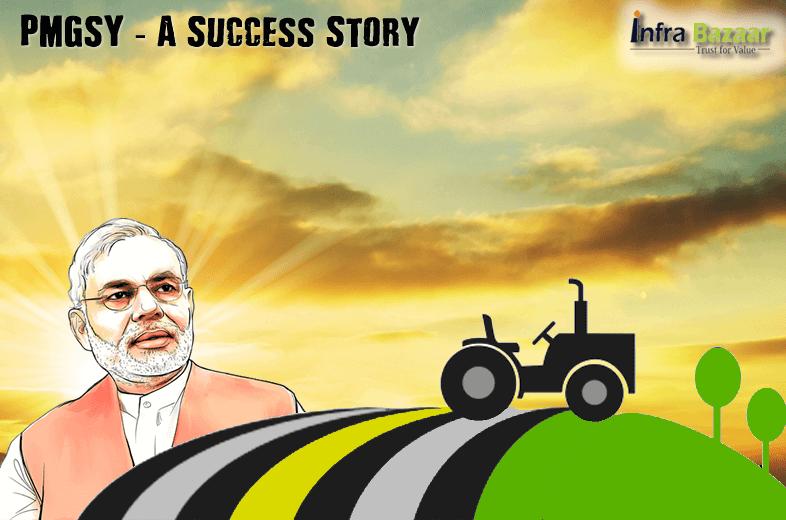 PMGSY (Pradhan Mantri Gram Sadak Yojana) - A Success Story |Infra Bazaar