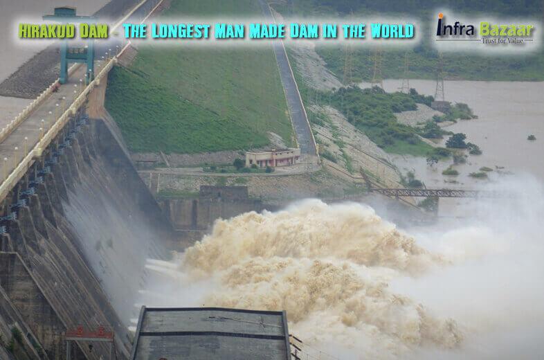 Hirakud Dam The Longest Man Made Dam in the World |Infra Bazaar