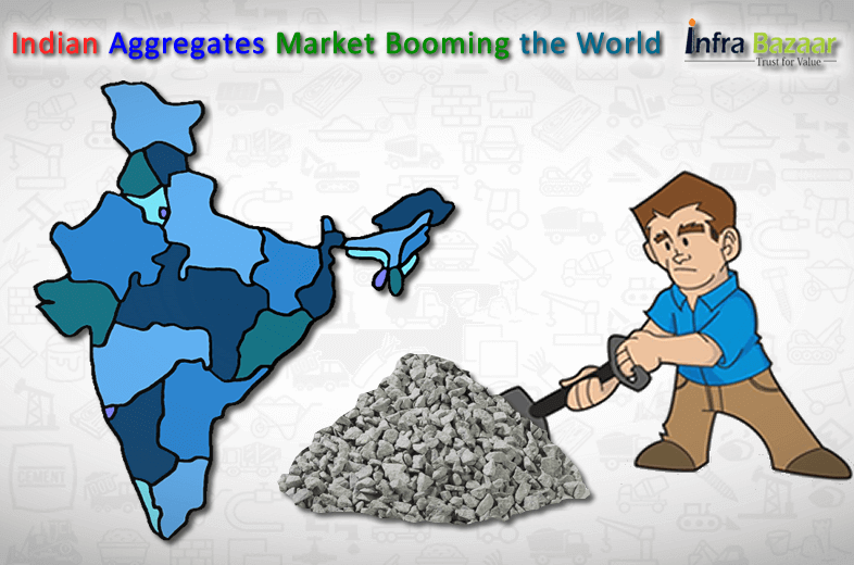 Indian Aggregates Market Booming the World  Infra Bazaar