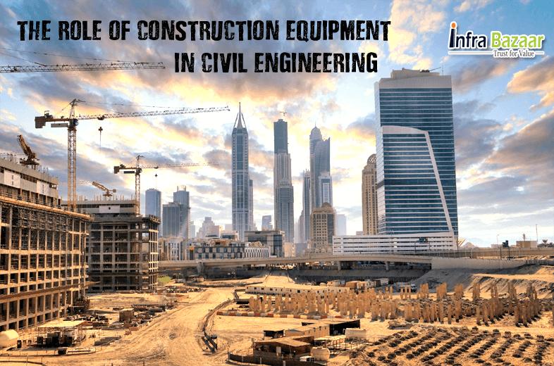 The Role of Construction Equipment in Civil Engineering |Infra Bazaar