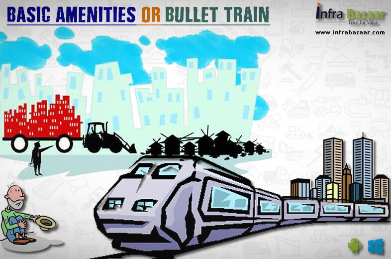 Need of the Hour: Basic Amenities or Bullet Train |Infra Bazaar