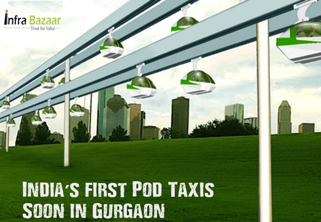 India's first Pod Taxis soon in Gurgaon | Infra Bazaar