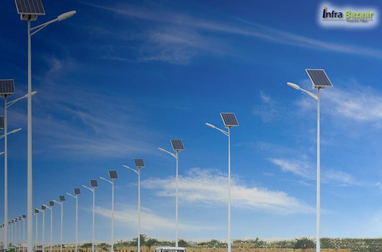 Benefits Of Solar Street Lights For Street Safety |Infra Bazaar