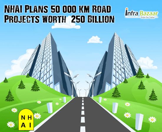 NHAI Plans 50,000 km Road Projects worth $250 Billion   Infra Bazaar